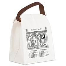 Facsimile No 3 Canvas Lunch Bag