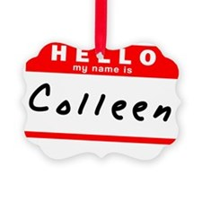 Colleen Picture Ornament