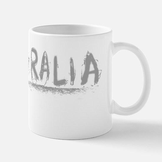 Australia-photobw-light Mug