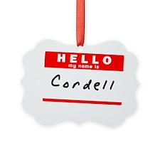 Cordell Ornament