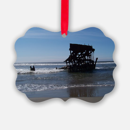Peter Iredale with Shadow Ornament