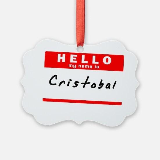 Cristobal Ornament