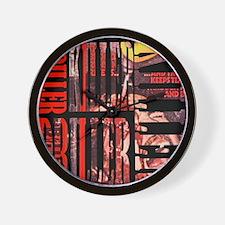 DRILLER-KILLER Wall Clock