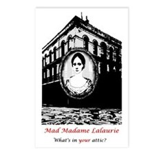 mmltshirt black and white Postcards (Package of 8)