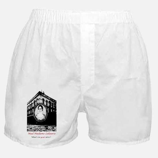 mmltshirt black and white Boxer Shorts