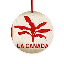 la-canada-flag-LG Round Ornament