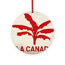 la-canada-flag-T Round Ornament