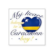 """Curacaon Square Sticker 3"""" x 3"""""""