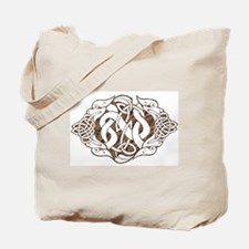 Celtic Stone: Guardian Dogs Tote Bag