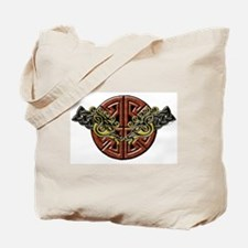Celtic Horses Tribal Tote Bag