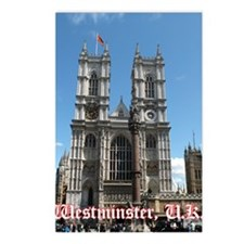 Westminster notes Postcards (Package of 8)