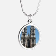 Westminster notes Silver Round Necklace