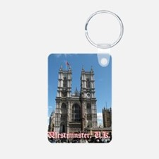 Westminster notes Aluminum Photo Keychain