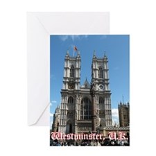 Westminster notes Greeting Card