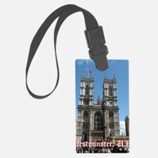 Westminster notes Luggage Tag