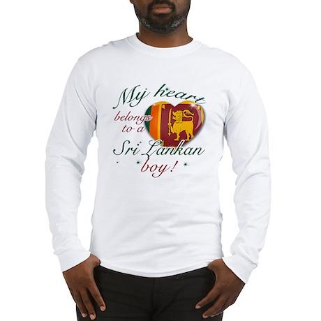 sri lankan Long Sleeve T-Shirt