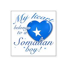 "somalian Square Sticker 3"" x 3"""