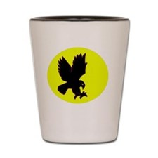 Midnight Hawk Shot Glass
