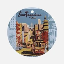 sanfranciscoSC1.gif Round Ornament