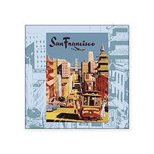 """sanfranciscoSC1.gif Square Sticker 3"""" x 3"""""""