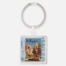 sanfranciscoSC1.gif Square Keychain