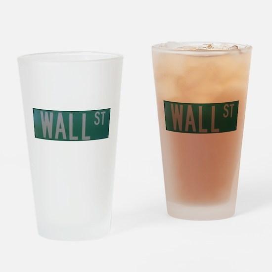 Wall Street Drinking Glass