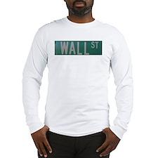 Wall Street Long Sleeve T-Shirt