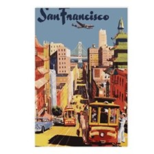 sanfranciscoOriginal1Wall Postcards (Package of 8)