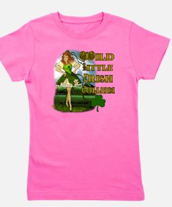 WILD-LITTLE-IRISH-COLLEEN Girl's Tee