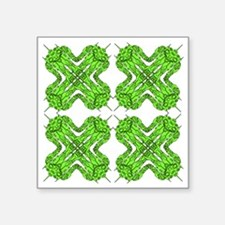 "Greenbots Square Sticker 3"" x 3"""