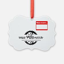 Philly MTB Nametag logo copy Ornament
