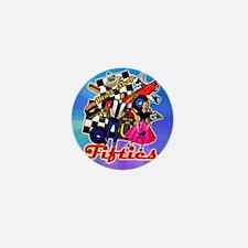 FABULOUS-FIFTIES-BLUE-shower_curtain Mini Button