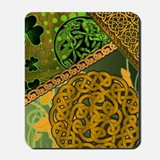 CELTIC-KNOTWORK-IRISH-shower_curtain Mousepad