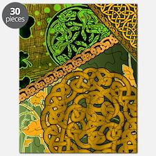 CELTIC-KNOTWORK-IRISH-shower_curtain Puzzle