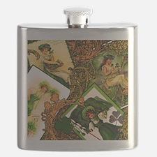 LADIES-VINTAGE-IRISHshower_curtain Flask