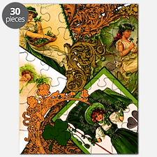 LADIES-VINTAGE-IRISHshower_curtain Puzzle