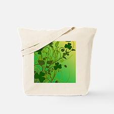 IRISH-SHAMROCK-FILLIGREE-shower_curtain Tote Bag