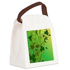 IRISH-SHAMROCK-FILLIGREE-shower_c Canvas Lunch Bag