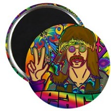 PSYCHEDELIC-PEACE-shower_curtain Magnet