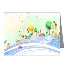 Road at City Note Cards (Pk of 20)