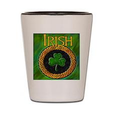 CELTIC-IRISH-SHAMROCK-MOUSEPAD Shot Glass