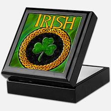 CELTIC-IRISH-SHAMROCK-MOUSEPAD Keepsake Box