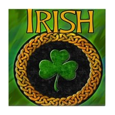 CELTIC-IRISH-SHAMROCK-MOUSEPAD Tile Coaster
