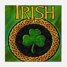 CELTIC-IRISH-SHAMROCK-MOUSEPAD Tile Coaster