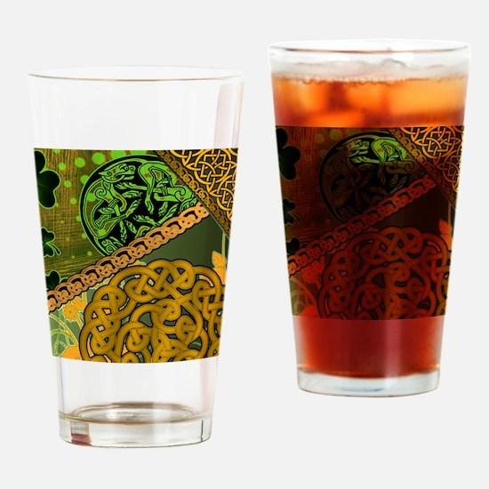 IRISH-CELTIC-KNOTWORK-MOUSEPAD Drinking Glass