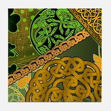 IRISH-CELTIC-KNOTWORK-MOUSEPAD Tile Coaster