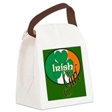 IRISH-GIRL-MOUSEPAD Canvas Lunch Bag