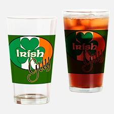 IRISH-GUY-MOUSEPAD Drinking Glass