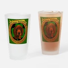 IRISH-SETTER-CELTIC-MOUSEPAD Drinking Glass