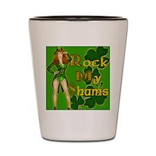 ROCK-MY-SHAMS-IRISH-MOUSEPAD Shot Glass
